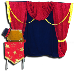 Mister Greggy's stage curtain helps make your event look even better!
