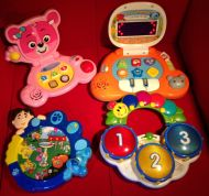 eBay - Four Computer Toys for Babies and Toddlers