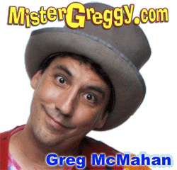 Greg McMahan.. author, magician, designer, all around creative guy
